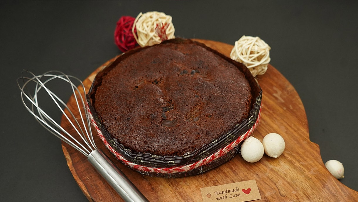 Homemade Dry Fruit Cake Recipe