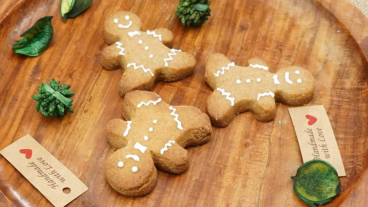 Homemade Ginger Bread Man Cookies