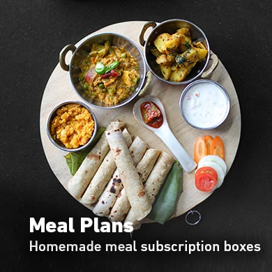 Complete homemade meals for delivery