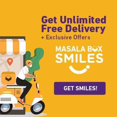 Unlimited Food delivery through Smiles by Masala Box